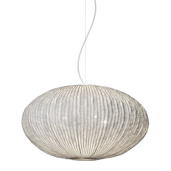 Coral Sea Urchin Ceiling Light - White - Large