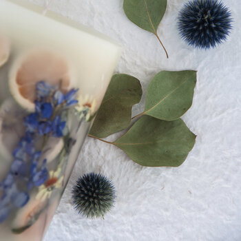 Rosy Rings 200 Hour Botanical Candle - Roman Lavender