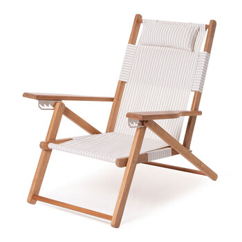 The Tommy Chair - Laurens Sage Stripe