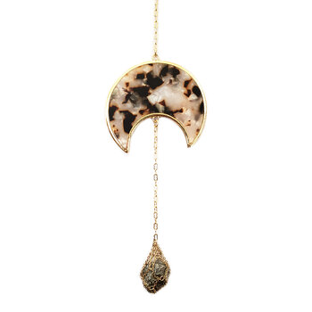 Moon Phase Wall Hanging - Resin