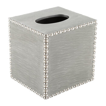 Swarovski Ravello Boutique Tissue Box - Silver