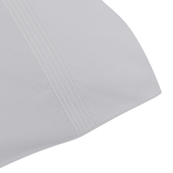 Five Row Cord Pillowcase Set Of 2 - White - Housewife
