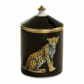 Magnificent Wildlife Lidded Candle - Leopard