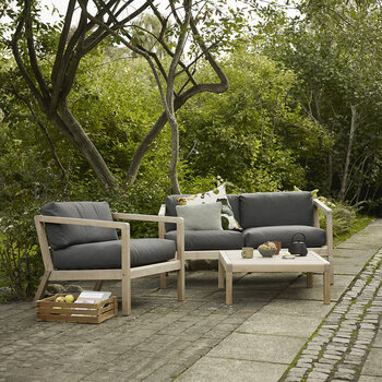 Virkelyst Sofa - Charcoal - Two Seater