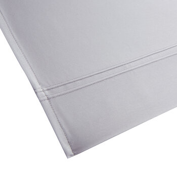 Triomphe Sateen Flat Sheet - Platinum - King