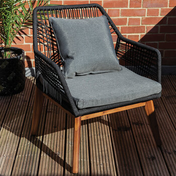 Outdoor Rope Weave Lounge Chair