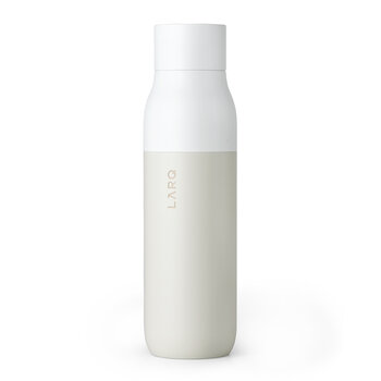 Self-Cleaning Insulated Water Bottle PureVis - Granite White