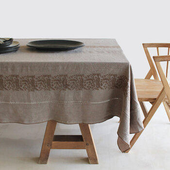 Embroidered Tablecloth - 170x250cm - Sophia