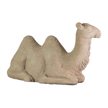 Laying Camel Ornament - Brown