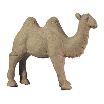 Standing Camel Ornament - Brown