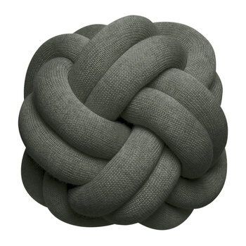 Knot Cushion - 30x30cm - Forest Green