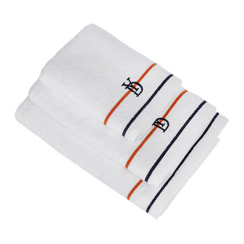 Dyade Towel - White