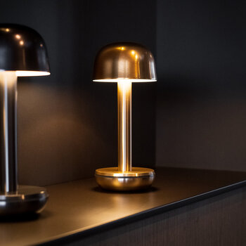 Two Table Light - Gold