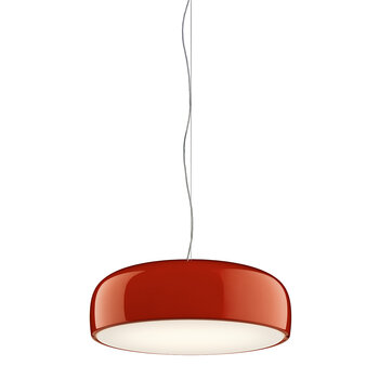 Smithfield S Ceiling Light - Glossy Red