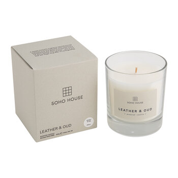 Bassett Candle - Leather & Oud