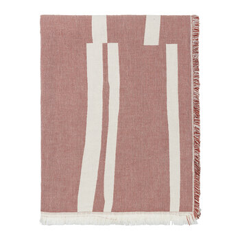 Lyme Grass Throw - Red
