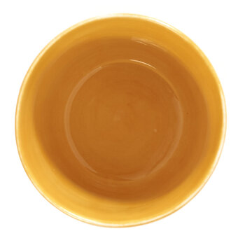 Feast Cup  - Set of 4 - Sunny Yellow Swirl