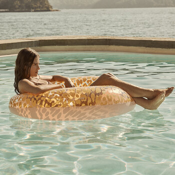 Inflatable Pool Ring - Call Of The Wild - Peachy Pink