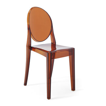 Victoria Ghost Chair - Amber