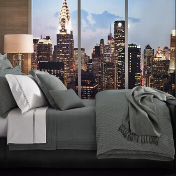 Penthouse Clay Duvet Cover - Charcoal