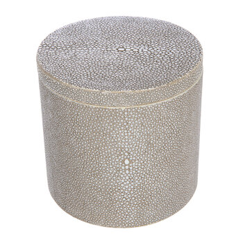 Manchester Round Canister - Sand