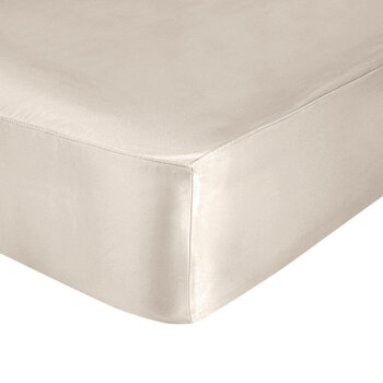 Pure Silk Fitted Sheet - Champagne