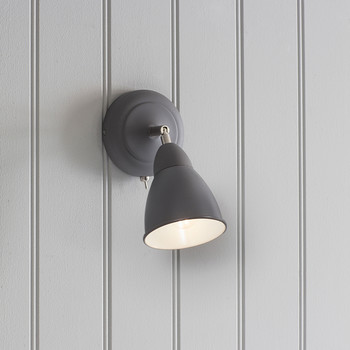 Chiswick Wall Lamp - Charcoal