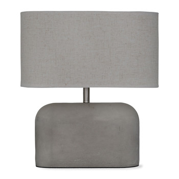 Millbank Slab Table Lamp - Polymer Concrete