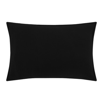 Soft Fleece Bed Pillow - 30x50cm - Black