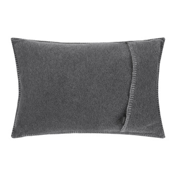 Soft Fleece Bed Pillow - 30x50cm - Medium Gray