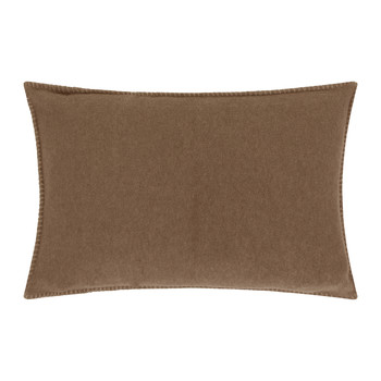 Soft Fleece Bed Pillow - 30x50cm - Smoke