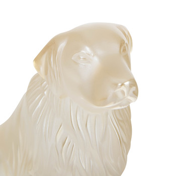 Golden Retriever Sculpture - Gold Luster