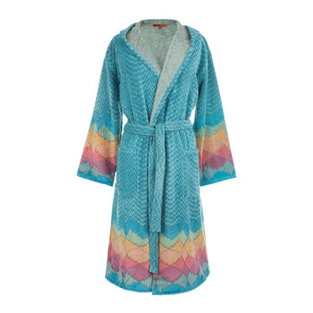 Tamara Hooded Bathrobe - 100