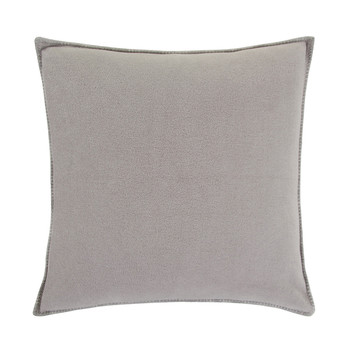 Soft Fleece Pillow - 50x50cm - Light Gray
