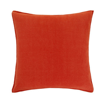 Soft Fleece Pillow - 50x50cm - Papaya