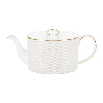 Arris Teapot - White