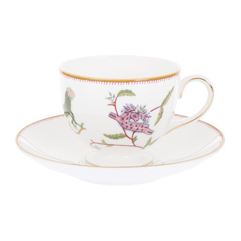 Kit Kemp Mythical Creatures Teacup & Saucer