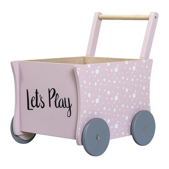 Children's Rose Push Wagon - Let's Play