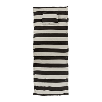 Cotton Beach Mat - Black