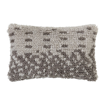 White Wool Cushion - 60x40cm
