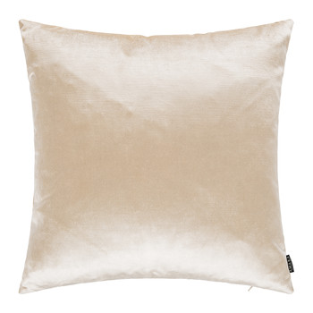 Cotton Velvet Cushion - 45x45cm - Cappuccino