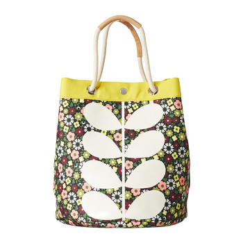 Sac Marin en Toile Flower Bloom - Grand modèle
