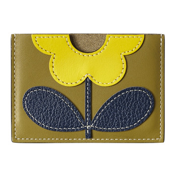 Porte-Cartes en Cuir Giant Flower - Mousse
