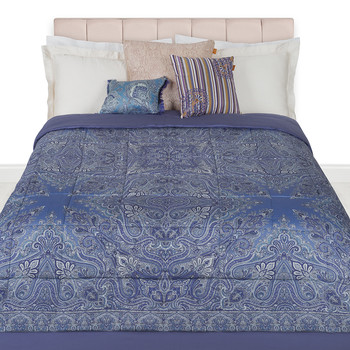 Chelsea Quilted Bedspread - 270x270cm - Purple