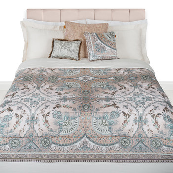 Hugo Quilted Bedspread - 270x270cm - White