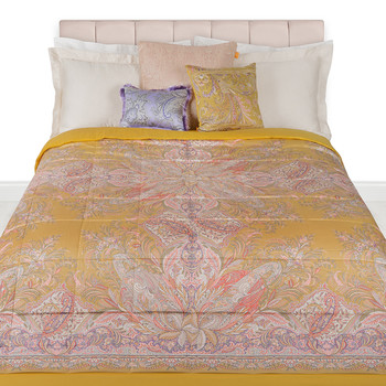 Rickman Quilted Bedspread - 270x270cm - Yellow