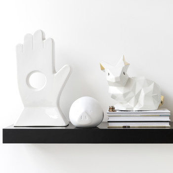 Roro Money Box - White
