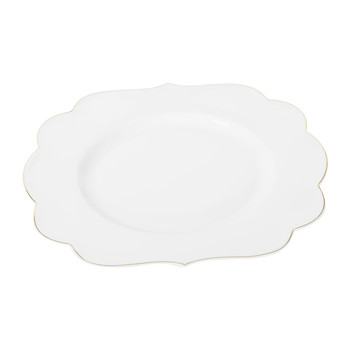 Royal Pip Breakfast Plate - White
