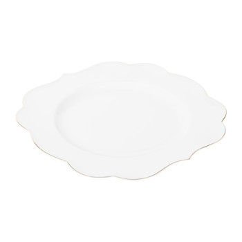 Royal Pip Dinner Plate - White