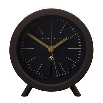 Fred Alarm Clock - Chocolate Black - Black Dial